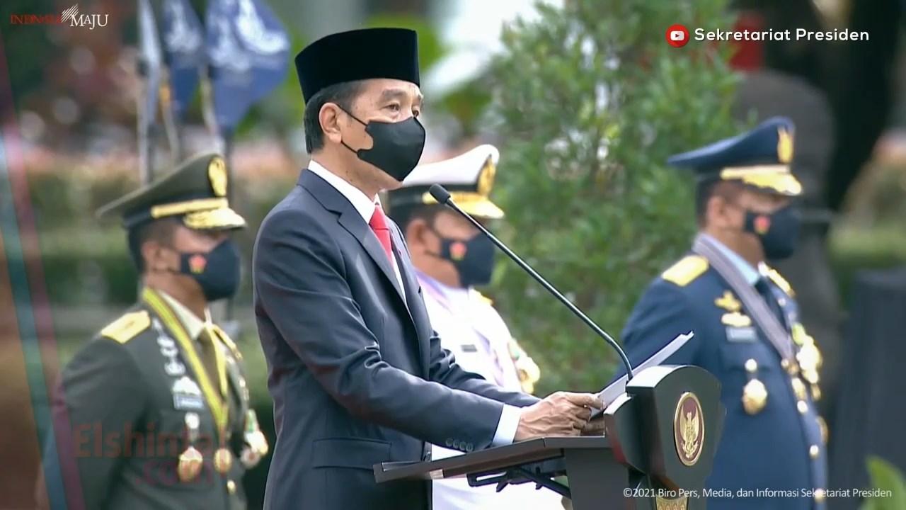 Pidato Presiden dalam Upacara Peringatan Ke-76 Hari Tentara Nasional Indonesia