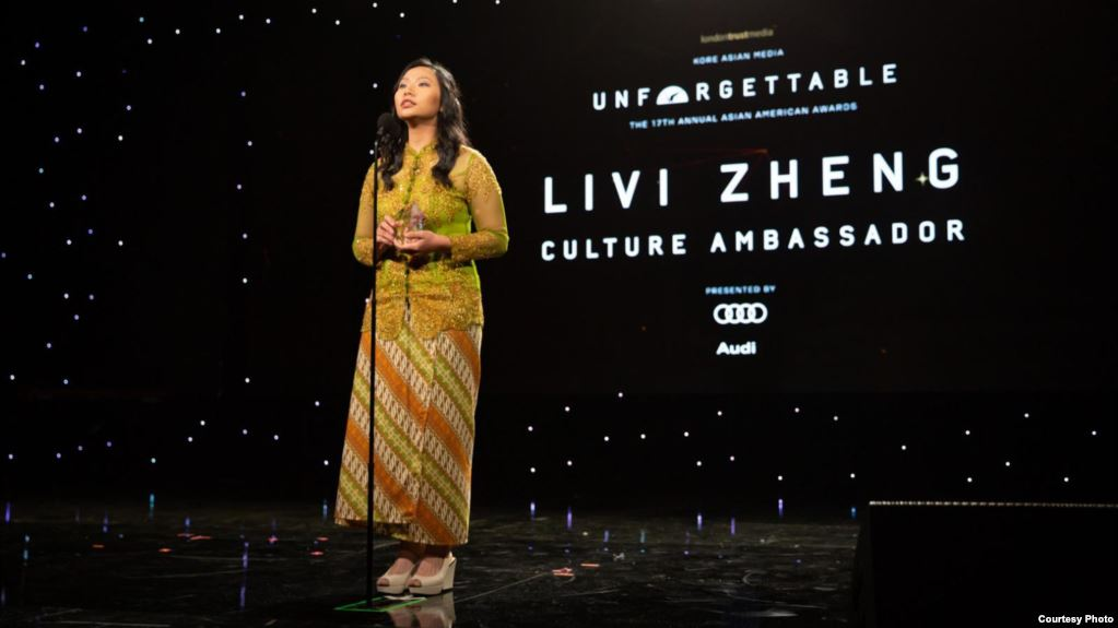Sutradara Indonesia Livi Zheng raih penghargaan bersama sineas Hollywood