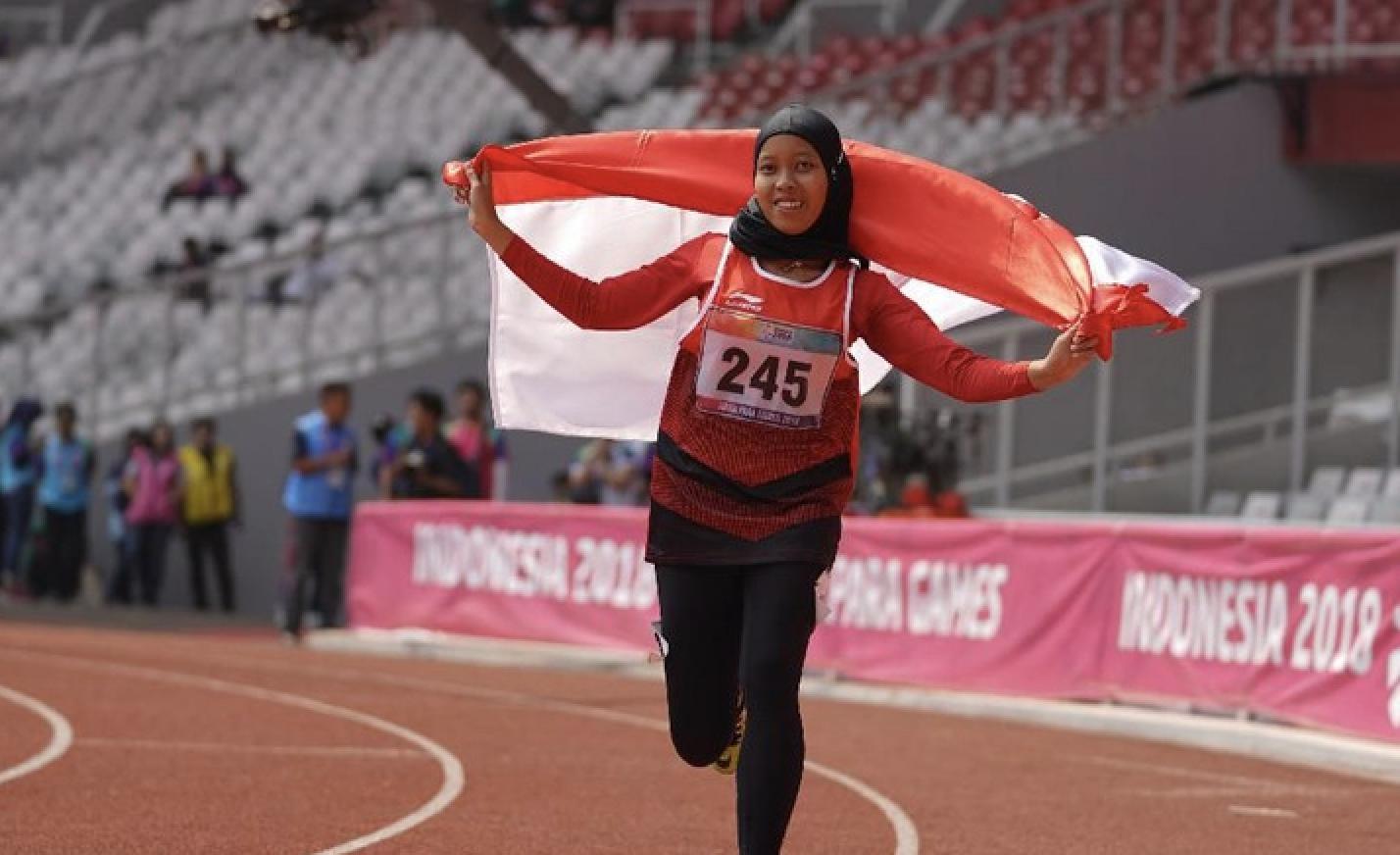 Karisma Evi Tiarani, gadis asal Boyolali pemecah rekor dunia Para Atletik