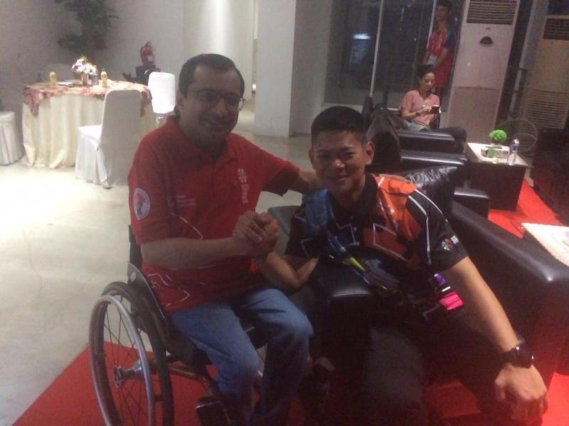Membanggakan, Presiden Asian Paralympic Committee puji pelaksanaan Asian Para Games 2018