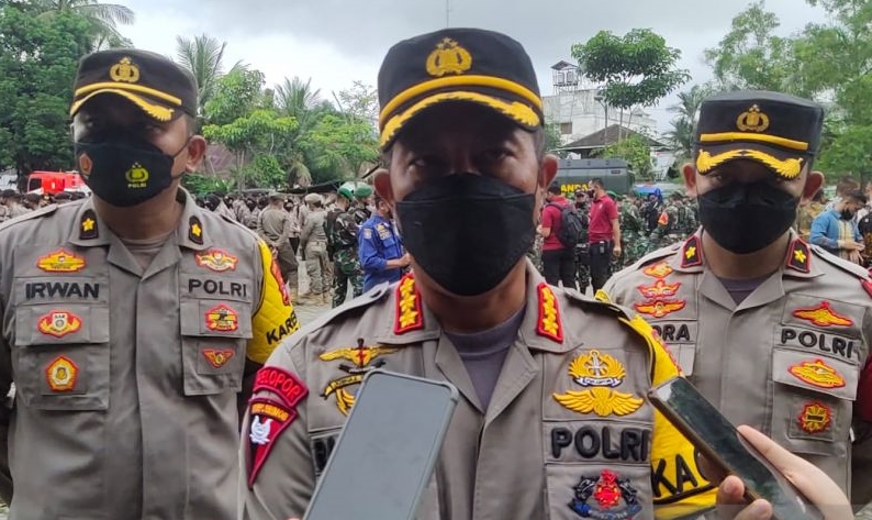 Polisi terapkan `contra flow` saat Presiden resmikan Sei Alalak