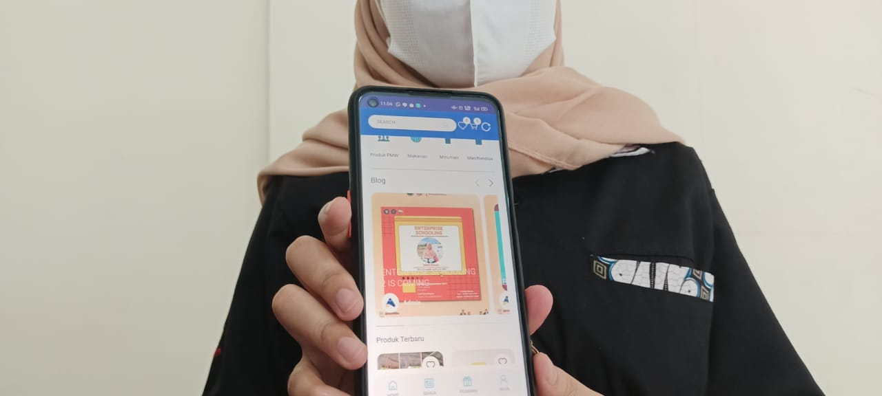 Lima mahasiswa FTP UB Malang ciptakan aplikasi marketplace