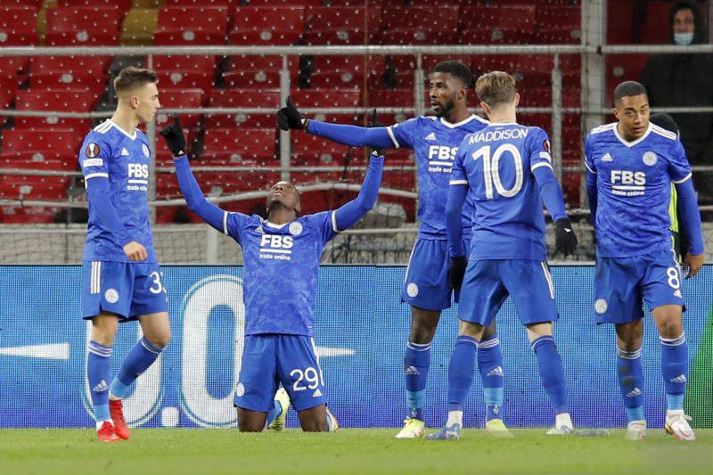 Patson Daka caturgol, jungkalkan Spartak Moskow 4-3