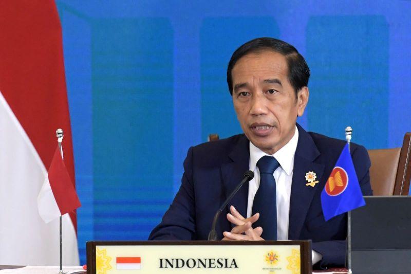 Jokowi sampaikan tiga fokus ASEAN+3 untuk perkuat ketahanan kesehatan