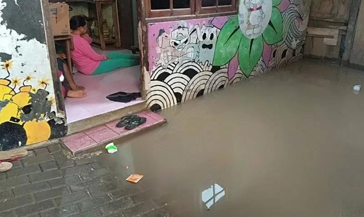 16 Oktober 2020: Tujuh RT di Jakarta terendam banjir
