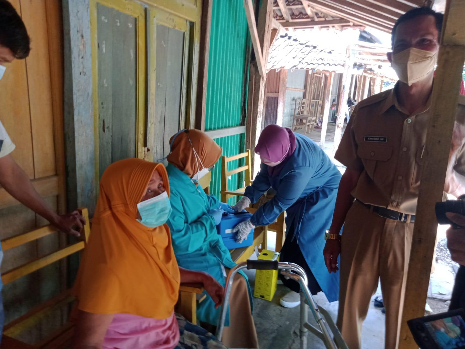 170 lansia di Boyolali utara dapat layanan homecare vaksin