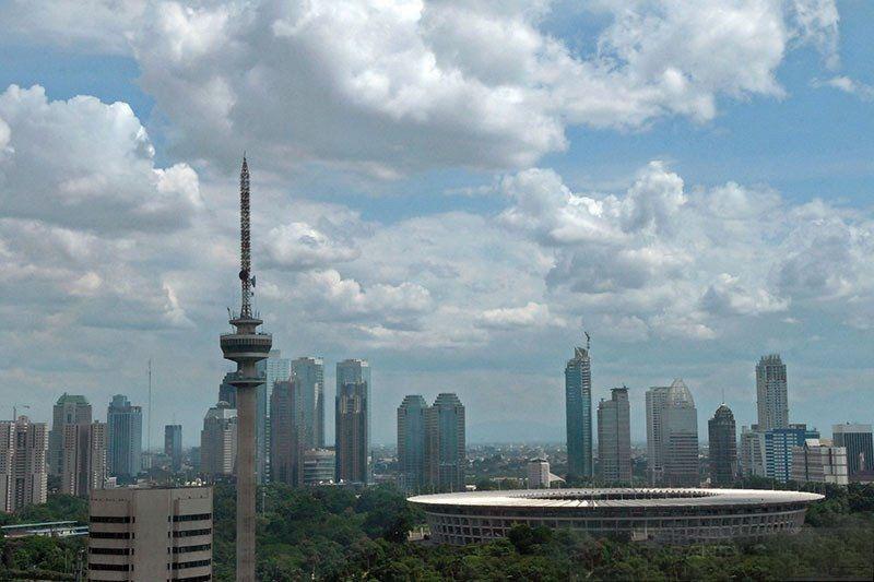 Cuaca mayoritas kota besar di Indonesia diprakirakan cerah berawan