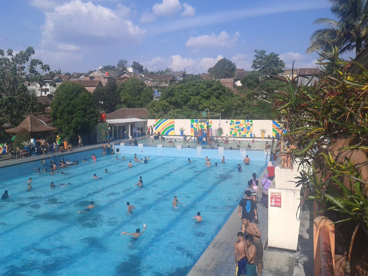 Obyek wisata Kalitaman Salatiga mulai ramai pengunjung