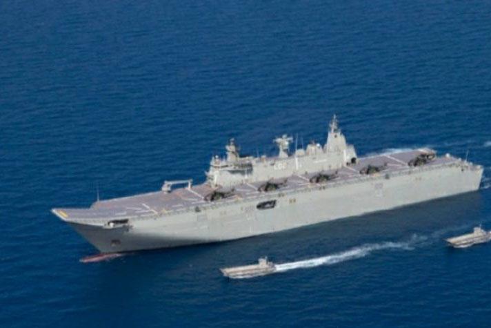 Perkuat kerja sama, kapal Angkatan Laut Australia kunjungi Jakarta