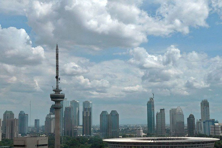 Senin, BMKG prakirakan sebagian besar wilayah Indonesia cerah berawan