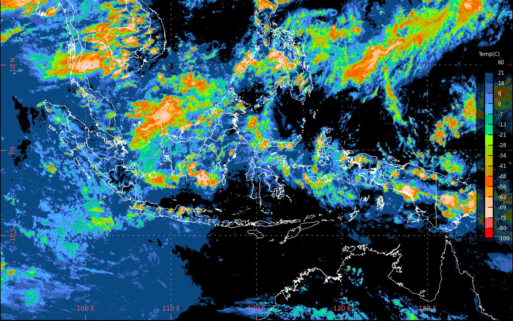 BMKG prakirakan sebagian besar wilayah di Indonesia cerah berawan