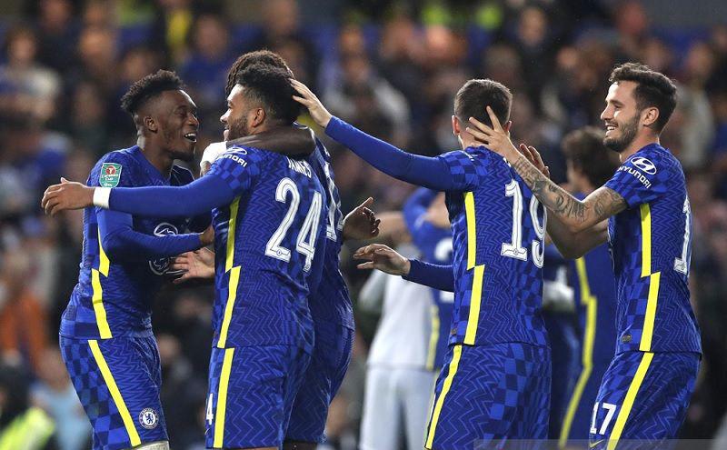 Chelsea butuh adu penalti untuk sisihkan Southampton di Piala Liga