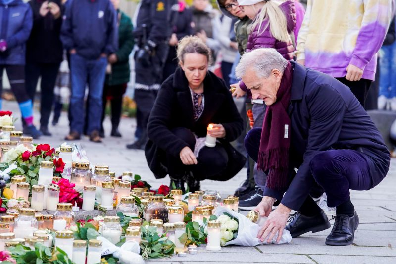 Serangan di Norwegia gunakan senjata tikam, bukan busur panah