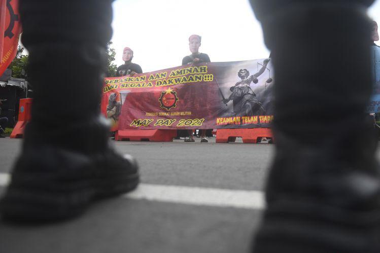 Polres Jakarta Pusat kerahkan ribuan personel kawal aksi buruh