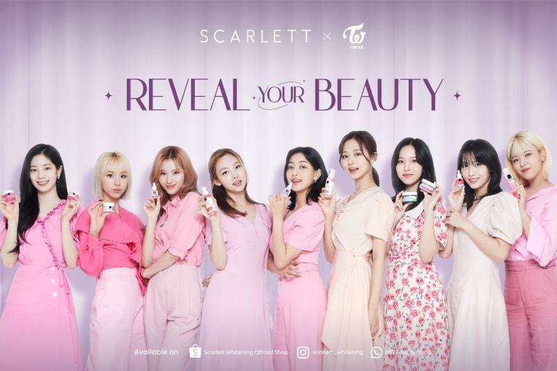 Setelah Song Joong-ki, giliran TWICE jadi `star ambassador` Scarlett
