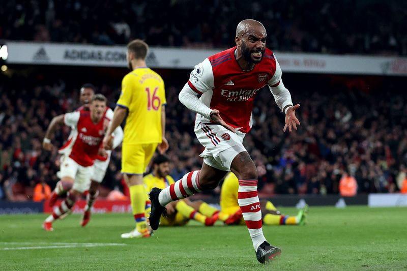 Gol larut Lacazette selamatkan Arsenal dari kekalahan lawan Palace