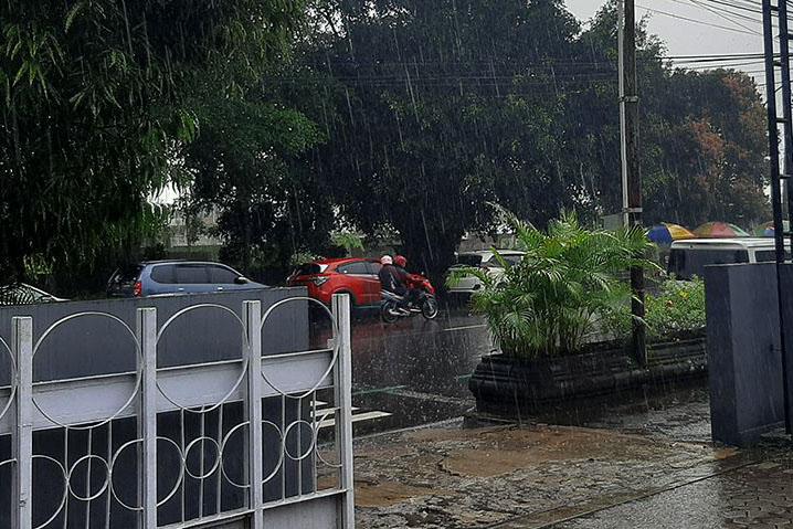 BMKG: Waspadai hujan lebat di pegunungan tengah Jateng