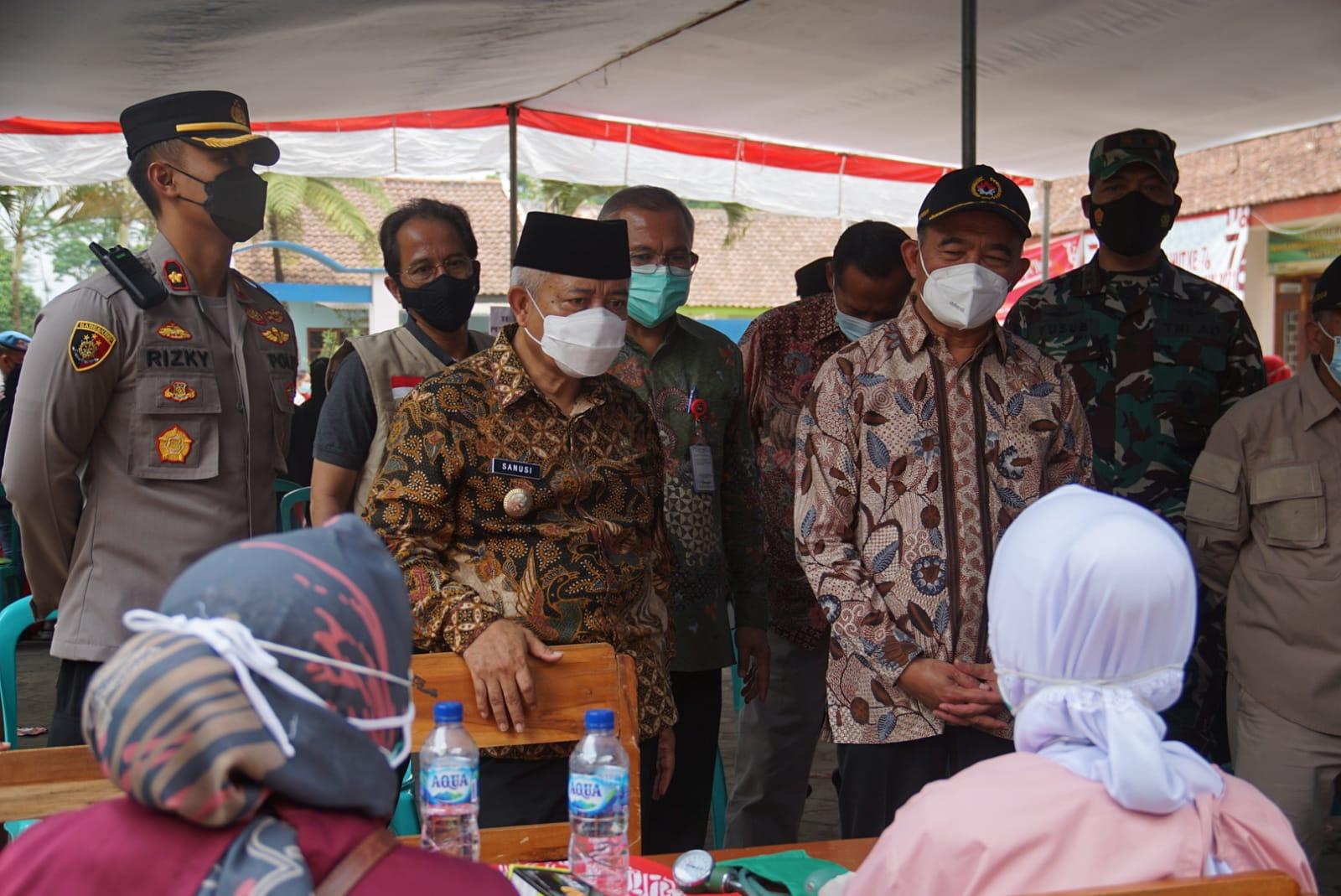 Menko PMK pantau percepatan vaksinasi di Kabupaten Malang