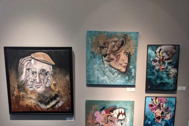 Karya pelukis kontemporer Indonesia dipamerkan di Paris