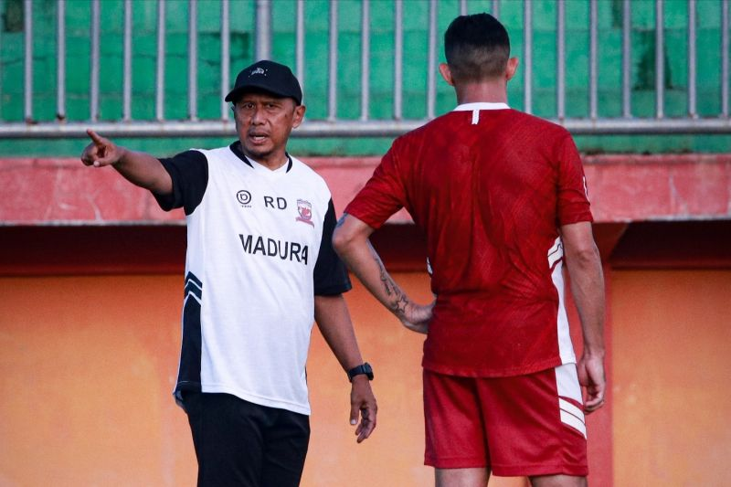 Madura United bersiap hadapi Persija