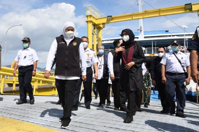 Gubernur Jatim resmikan dermaga gerak di Pelabuhan Banyuwangi