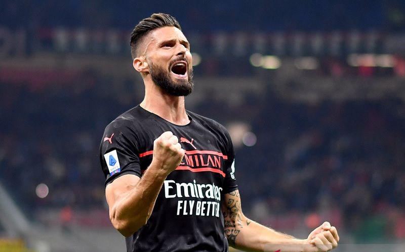 Olivier Giroud bawa Milan tundukkan Torino dan naik ke puncak