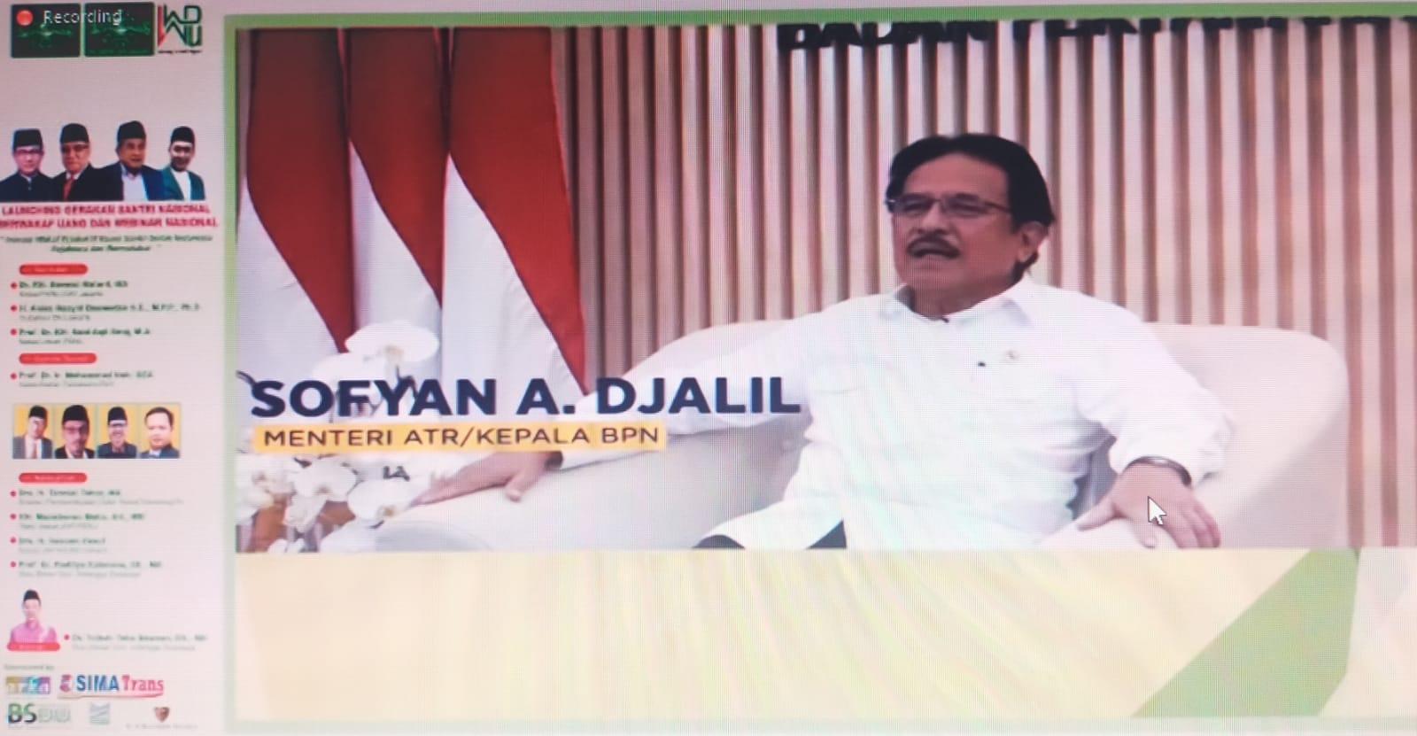 Menteri ATR/BPN: Cakupan pemanfaatan wakaf perlu diperluas