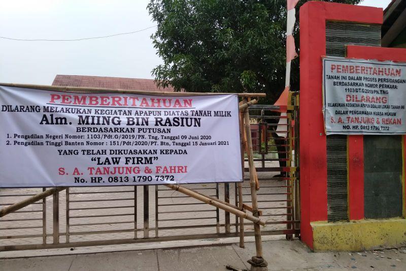 Dindik Kabupaten Tangerang sesalkan adanya penyegelan sekolah