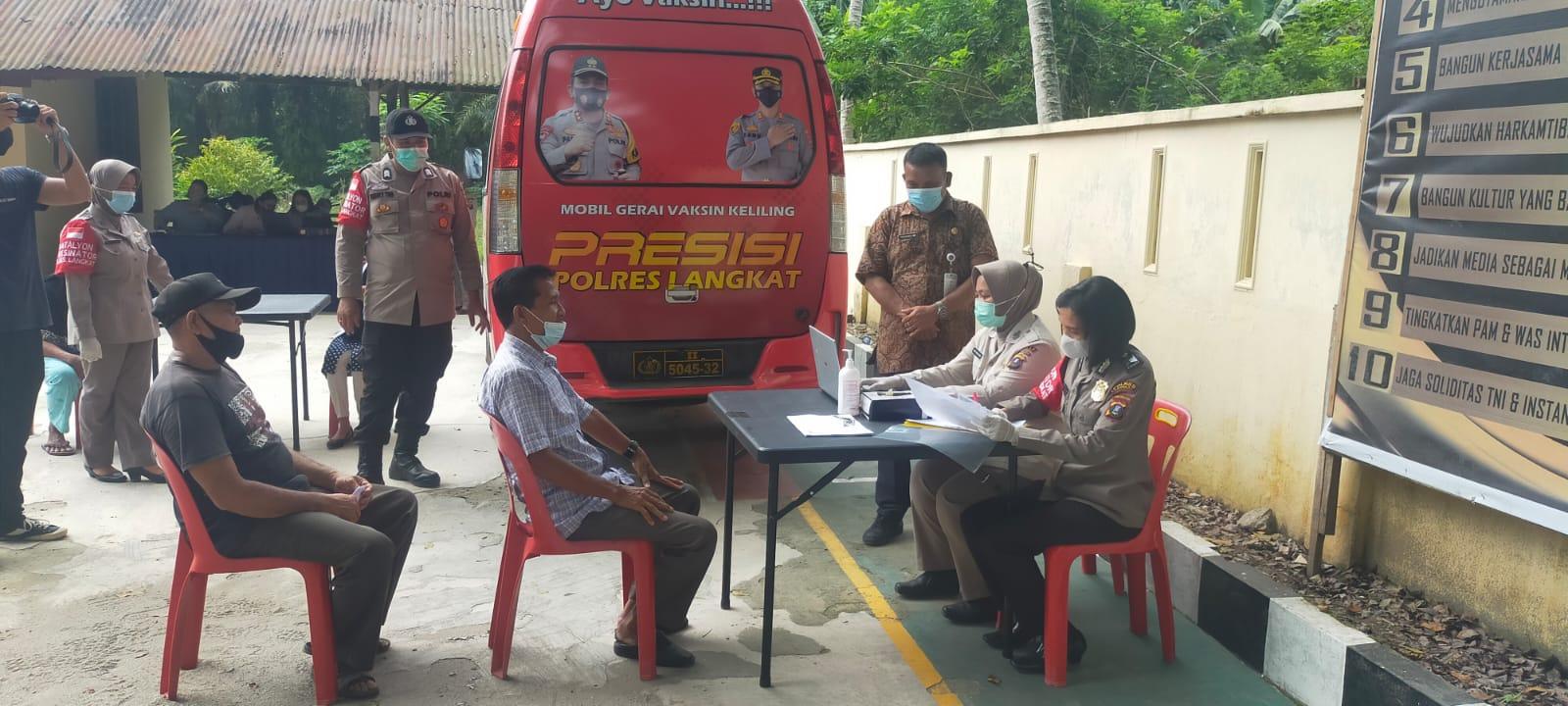 KPCPEN: 805.350 target vaksinasi di Kabupaten Langkat