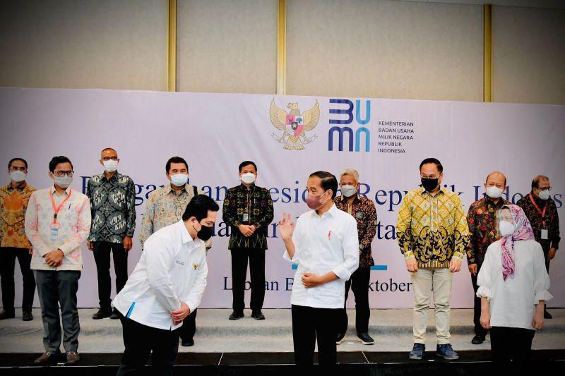 Presiden Jokowi tak ingin BUMN sering dapat proteksi