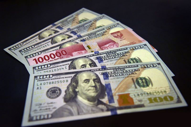 Rupiah dibuka melemah 10 poin ke Rp14.162 per dolar AS pada Rabu pagi