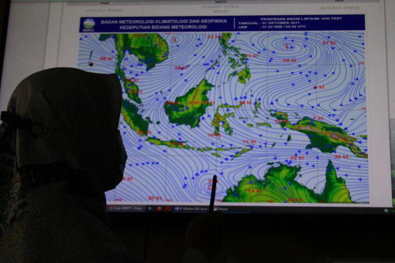 BMKG peringatkan potensi hujan lebat di beberapa wilayah Indonesia