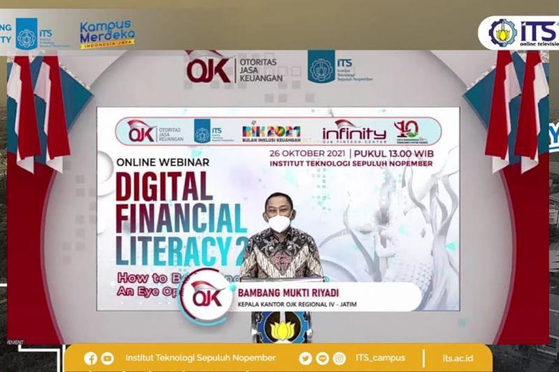 OJK gandeng ITS luncurkan program `digital financial literacy` 2021