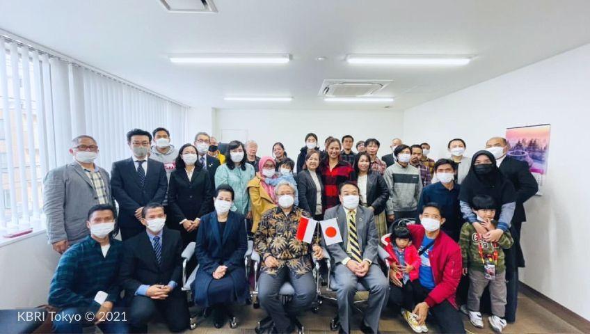 Dubes Heri Akhmadi kawal langsung layanan jemput bola keimigrasian WNI di Hokkaido