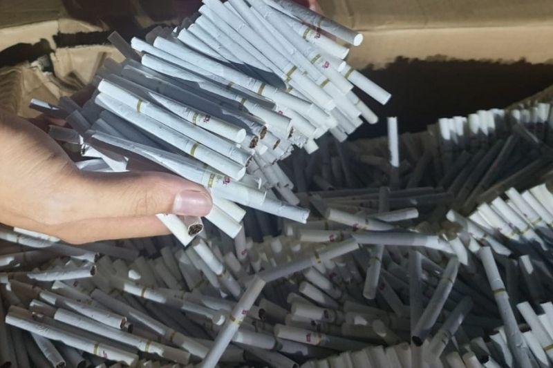 Bea Cukai Kudus sita rokok ilegal