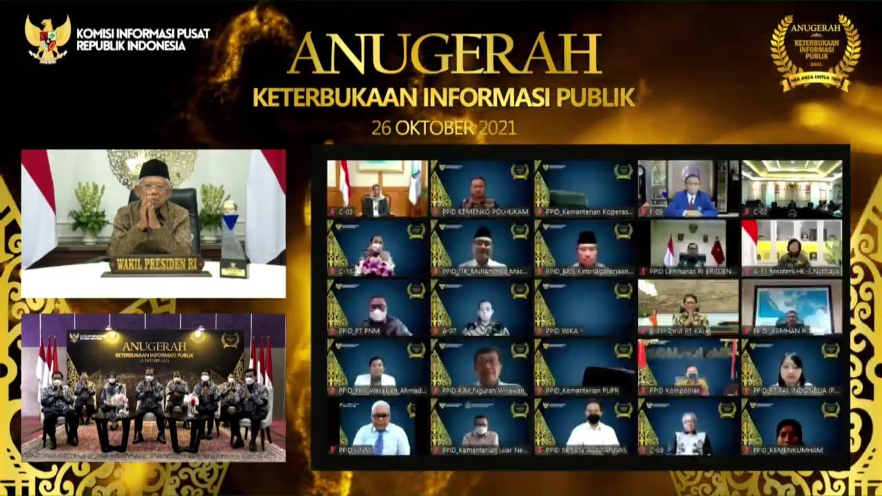 Wapres: Badan publik harus terbuka dengan kritik, saran dan masukan masyarakat