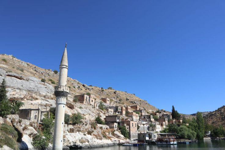 Halfeti, kota yang sempat tenggelam dan kembali ke permukaan