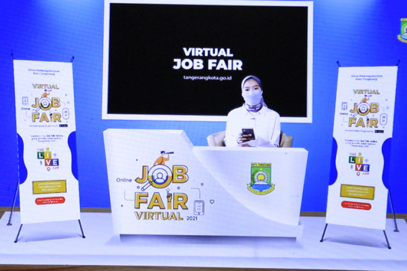 Virtual `job fair` Disnaker Tangerang sediakan 1.237 lowongan kerja