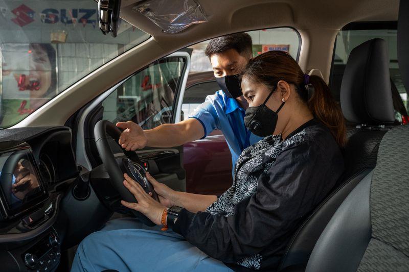 Tips mendapatkan posisi yang nyaman pada saat berkendara