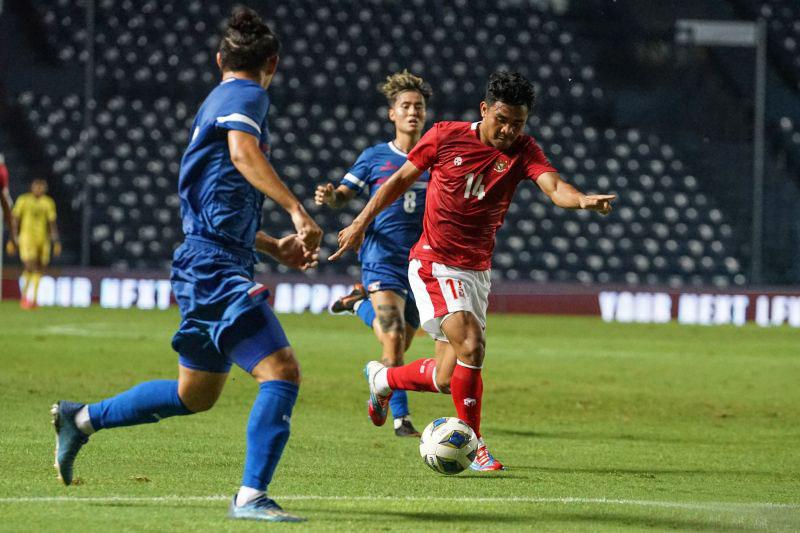 Indonesia gagalkan penalti dan imbangi Australia 0-0 di babak pertama