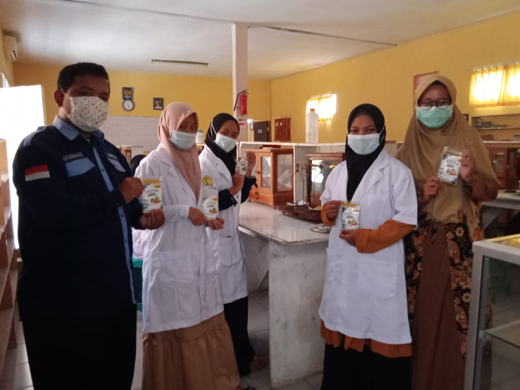 Pelajar SMK Majalengka buat produk peningkat imunitas tubuh