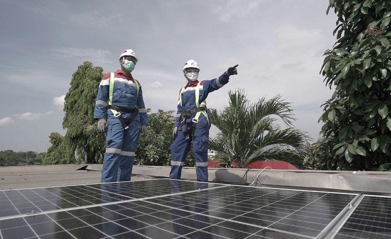 Kapasitas pembangkit energi baru terbarukan bertambah 386 megawatt