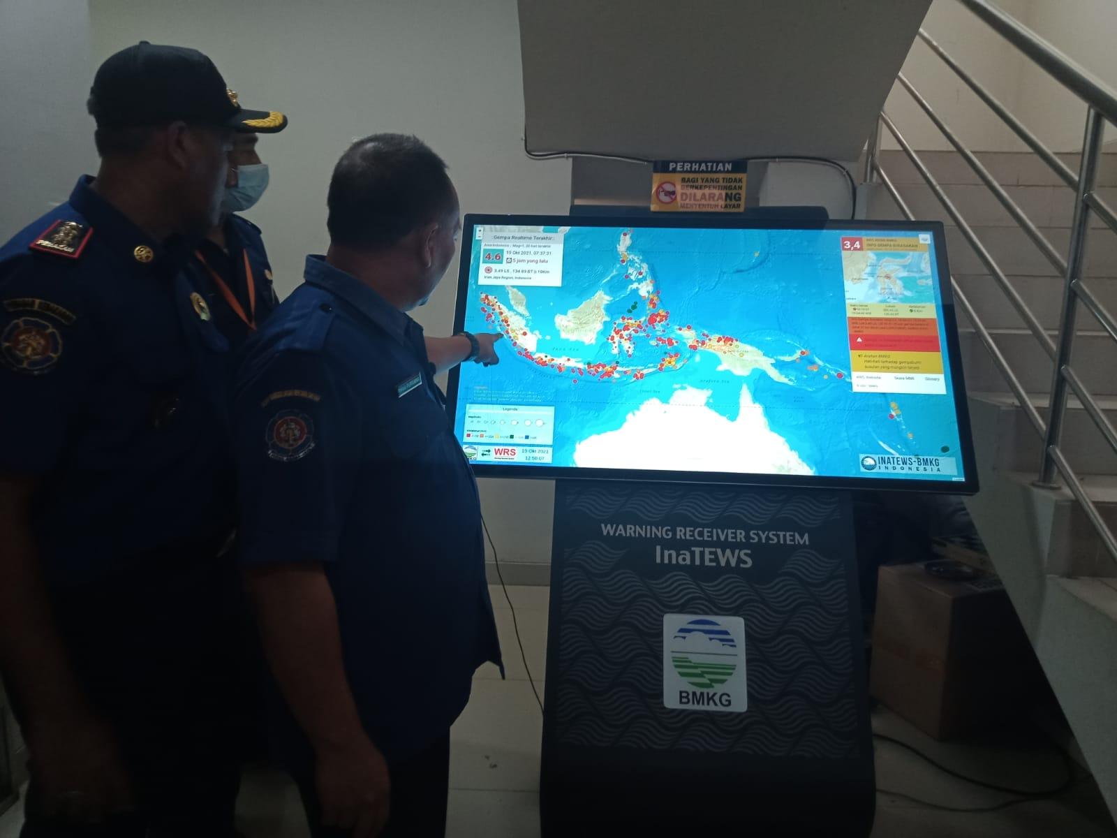 Pemkab Tangerang terima alat pendeteksi gempa dari BMKG