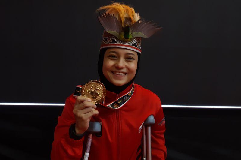 Maya Sheva bawa pulang emas PON Papua tanpa bertanding