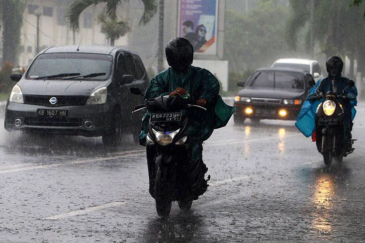 BMKG: Kalbar tiga hari ke depan berpotensi hujan ringan