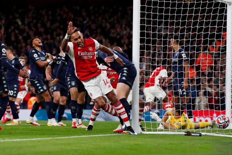 Arsenal sudahi rentetan hasil buruk lawan Aston Villa