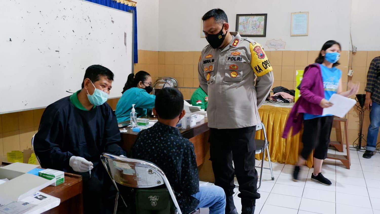 Polres Salatiga mulai vaksinasi di sekolah