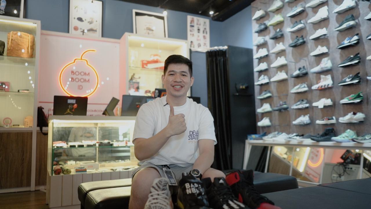 Reynard Gozali sukses bangun bisnis sneakers langganan para influencer dan youtubers