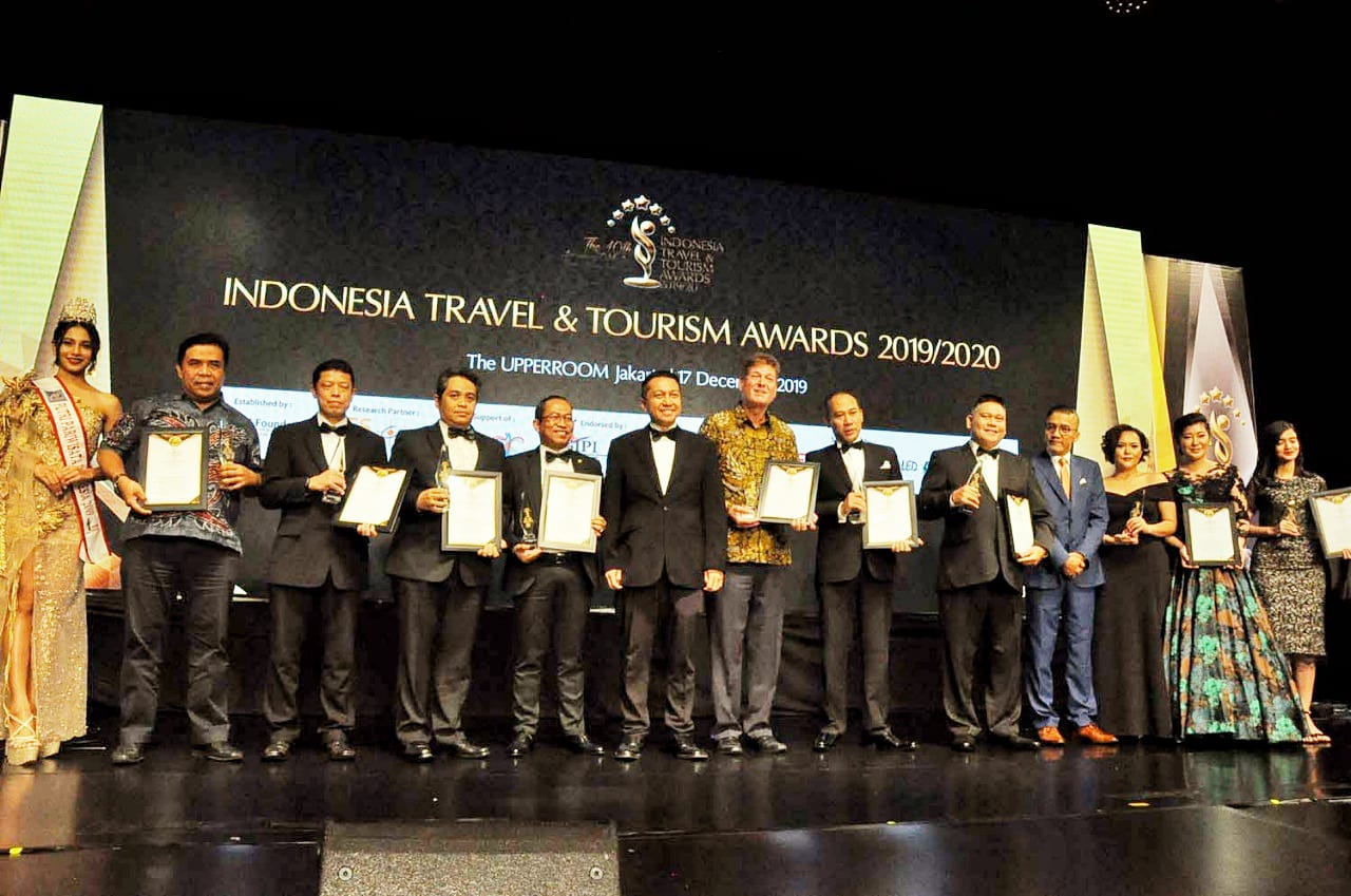 Indonesia Travel and Tourism Awards 2019,beri penghargaan industri pariwisata