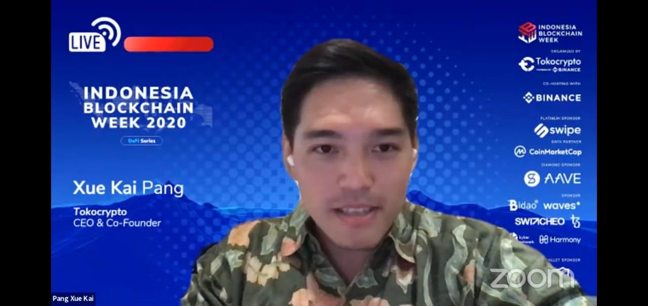 Indonesia Blockchain Week 2020 resmi dimulai, decentralized finance jadi fokus bahasan